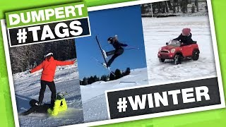 Het is KEIGLAD!!!! #WINTER | Dumpert Tags