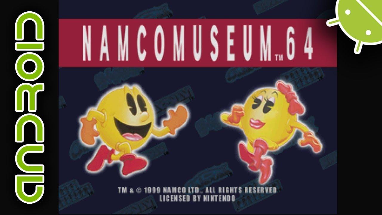 Namco Museum 64 | NVIDIA SHIELD Android TV | Mupen64Plus FZ Emulator  [1080p] | Nintendo 64