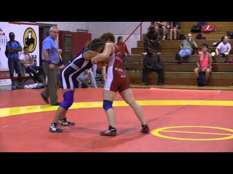 2014 Canada Cup: 55 kg Amber Maschke (CAN) vs. Alyssa Medeiros (CAN)