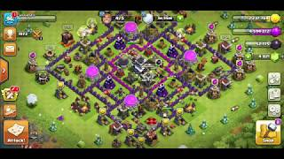 Clash of Clans: fill the gold storage very fast and easy with archer queen