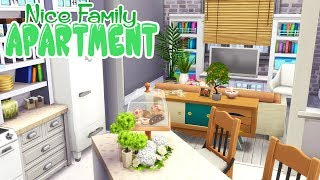 SPACIOUS FAMILY APARTMENT | The Sims 4 (NO CC) Speed Build Renovation