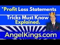 Profit Loss Statement - #1 Best Accounting Tricks - Must Shortcuts to Know