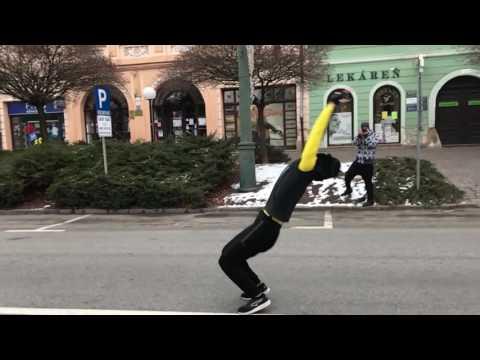 Amazing backflips (slow motion)