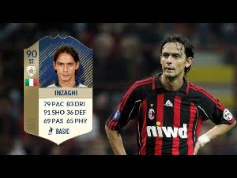 Fifa 18 Prime Icon Filippo Inzaghi (90) Player Review