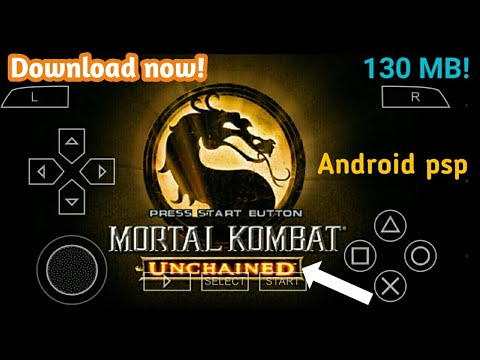 [130mb] Download Mortal Kombat Unchained For Android Psp | How To Download Mortal Kombat Unchained