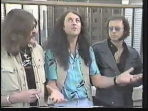 Deep Purple interview 1984: The lads interviewed on Canadian TV, 1984. Clip back.