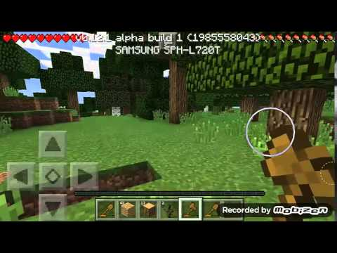 Minecraft pe lets play episode 1 making the house for Modern house minecraft pe 0 12 1