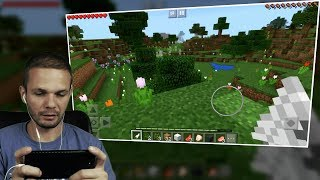 Minecraft Pocket Edition (iOS | iPhone 7 plus ) 3D gameplay