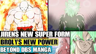 Beyond Dragon Ball Super: Jirens NEW Supernova Form! Brolys New Super Saiyan Blue Power Unleashed!