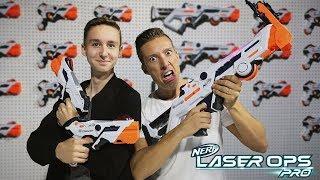 Nerf Laser Ops Blaster - Launch Event in London mit TutopolisTV und Magicbiber [Werbung]