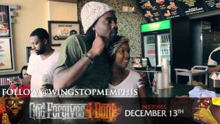 "WALE AND DJ KHALED VISIT RICK ROSS ""WING STOP"" IN MEMPHIS"