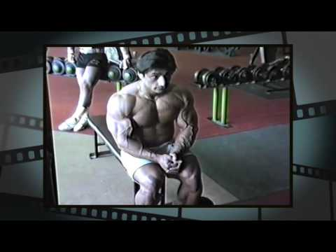 Danny Padilla 1990 Comeback Workout Video Never Before Seen!