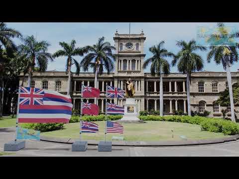 Himno y banderas de Hawái (EE.UU.)   Hawaii (U.S.A.) flags and anthem