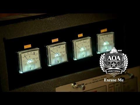王牌女神AOA - Excuse Me  (華納official HD 高畫質官方中字版)