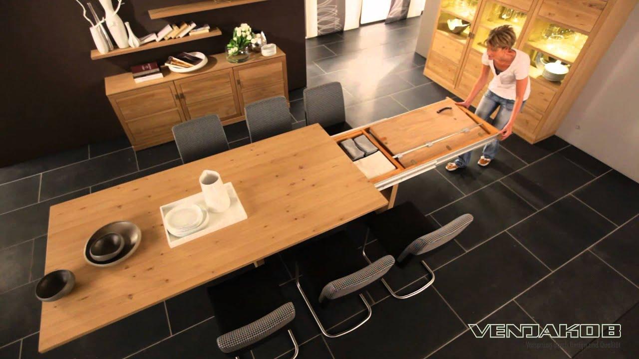 erweiterbarere esstische et345 und et355 youtube. Black Bedroom Furniture Sets. Home Design Ideas