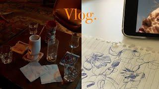 자취Vlog) 코로나 전 후의 일상 ☃️ | 홈파티, …