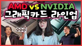 NVIDIA vs AMD 그래픽카드 라인업 알아보기! …