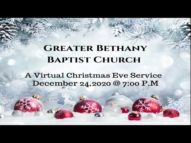12-24-2020 - Upset About A Baby by Rev. Dr. Curtis L. Lester, Pastor