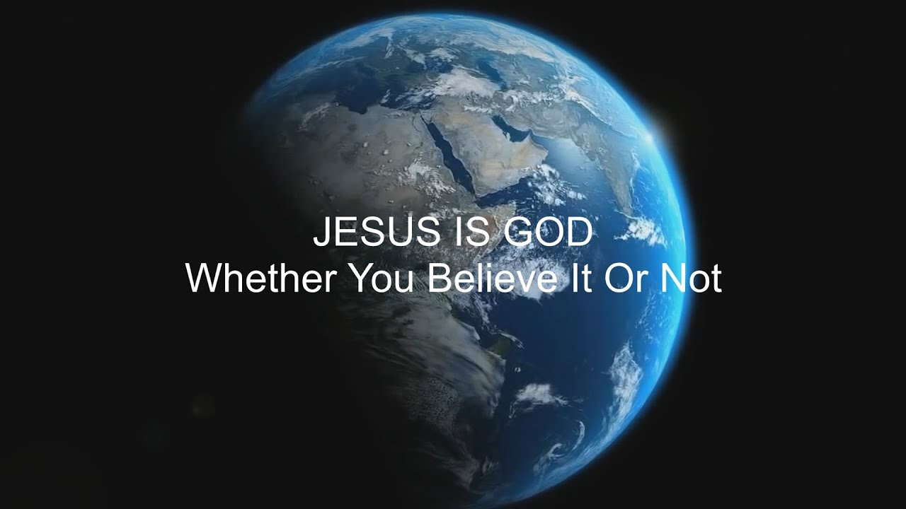 is jesus god the son shares the same nature as god the father