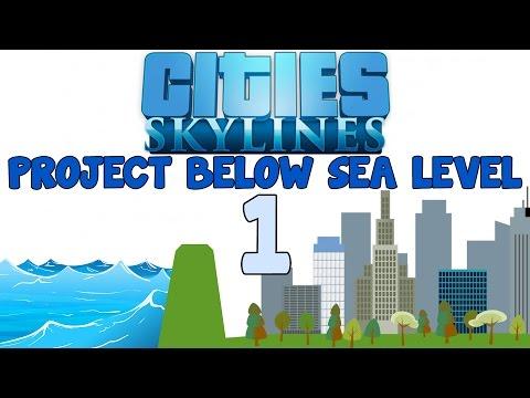 Cities: Skylines - Project below sea level episode 1