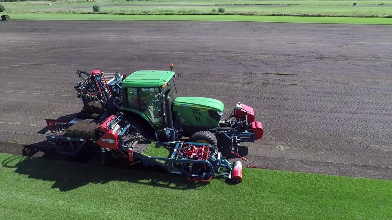 Greenscape GreenTurf TM lawn & sod  seeding, hydro seeding, trees