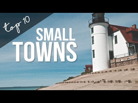 Top 10 Small Towns in America - Fulltime RV Living & Traveling - a Drivin' & Vibin' Travel Vlog
