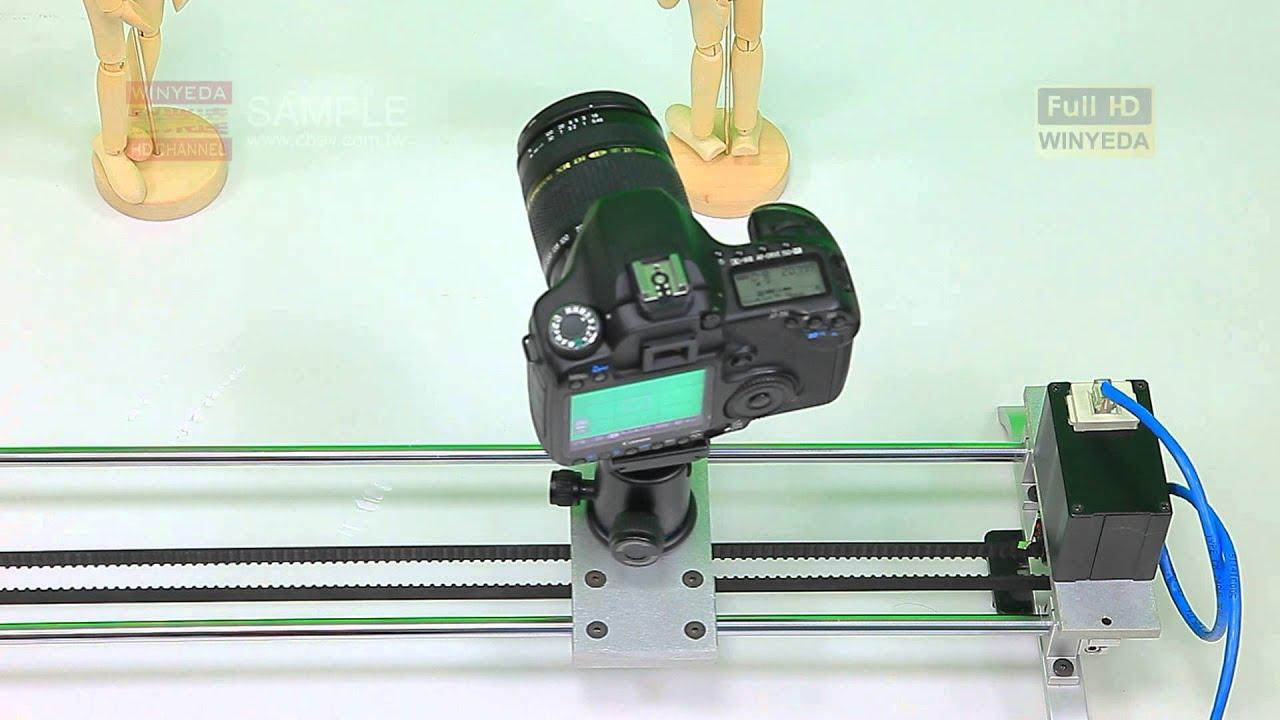 攝影器材 W攝影滑軌 電控軌道 縮時攝影 攝影滑軌 電動滑軌 電動軌道 WB0209 - YouTube