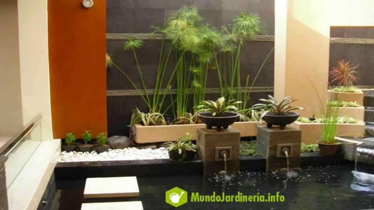 Dise o de jardines minimalistas peque os para casas youtube for Decoracion de jardines y parques