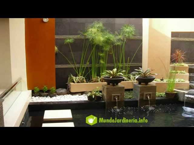 diseo de jardines pequeos para casas youtube