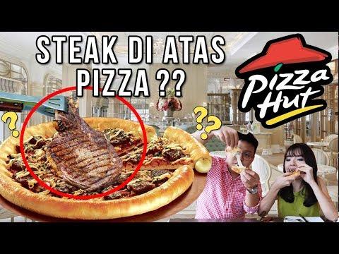 Pizza Paling Mewah Di PIZZA HUT !! Pakai Daging Asli ??