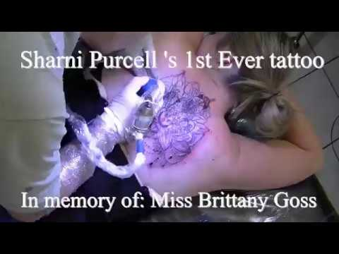 Sharni Purcell mandala giraffe tattoo for Miss Brittany Goss By Fluntboy tattooz  07.2017