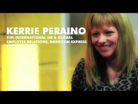 Power Stories of Power Women - Kerrie Peraino, SVP, International Human Resources, American Express
