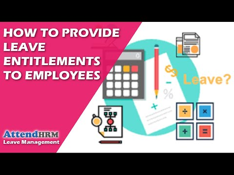 How to provide leave entitlements to employees in AttendHRM(Direct Method)