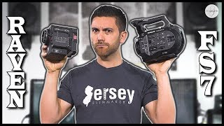 RED Raven vs. Sony FS7 - Which is BETTER??