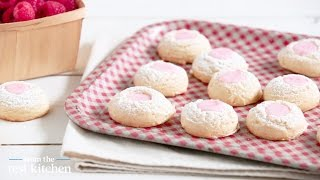 Pink Lemonade Thumbprint Cookies - From The Test Kitchen