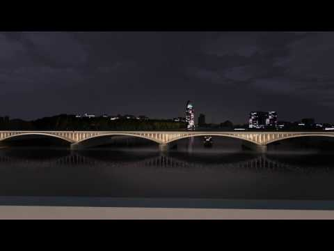 The Illuminated River installation by Diller Scofidio Renfro