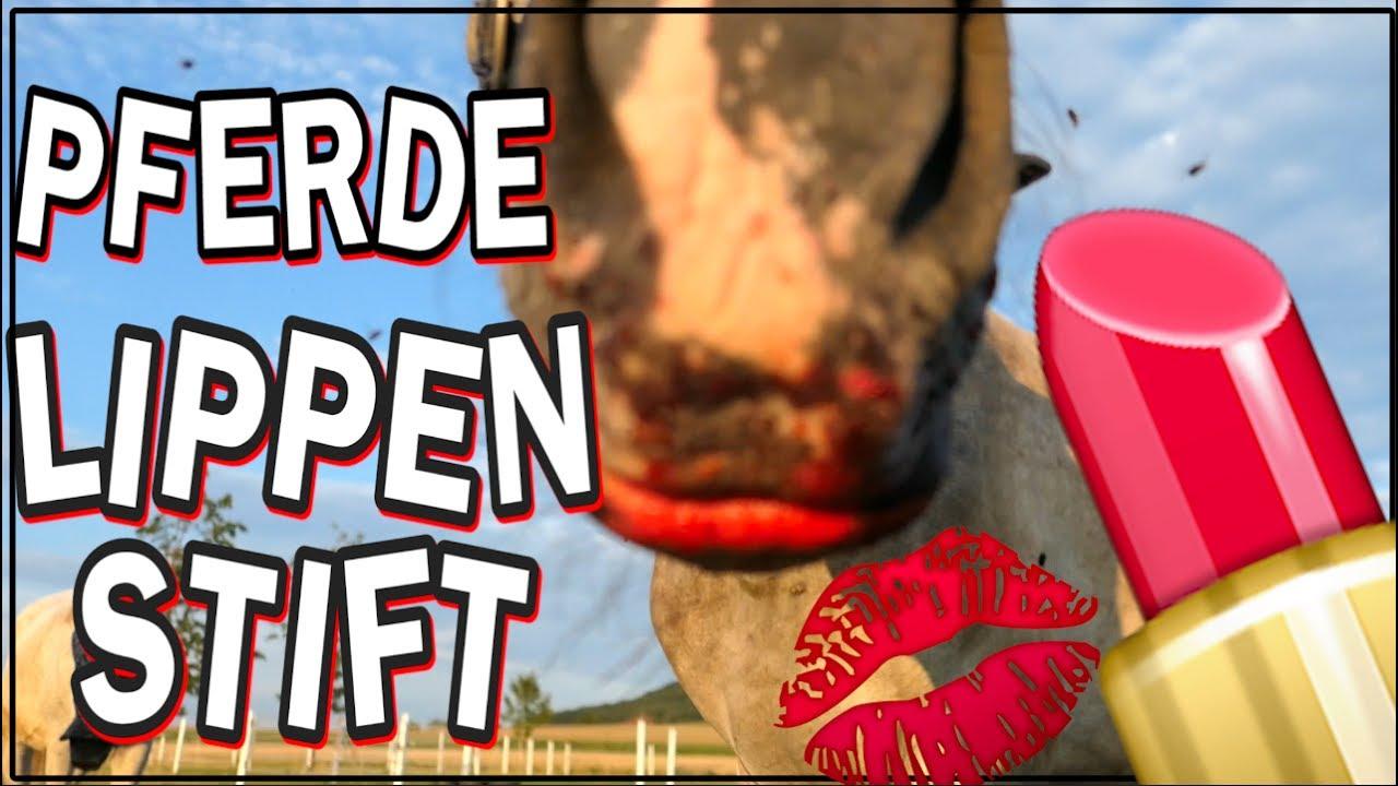 Lippenstift für Pferde ✮ - YouTube