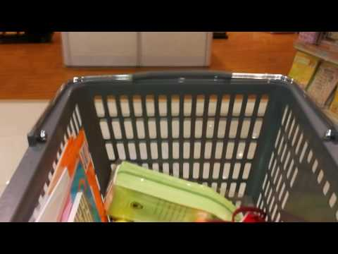 Moving Shopping Cart - Free Stock Footage
