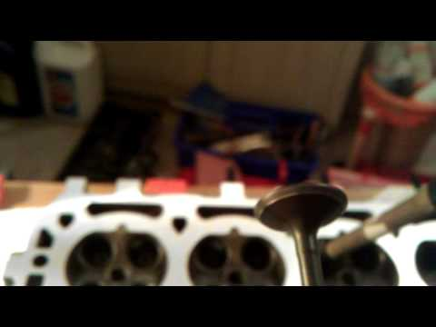 Rover K Series cylinder head rebuild part 3.