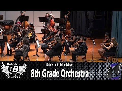 Eighth Grade Orchestra (Baldwin Middle School, NY) 4K