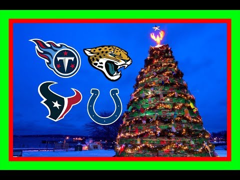 Perfect Christmas presents for AFC south teams