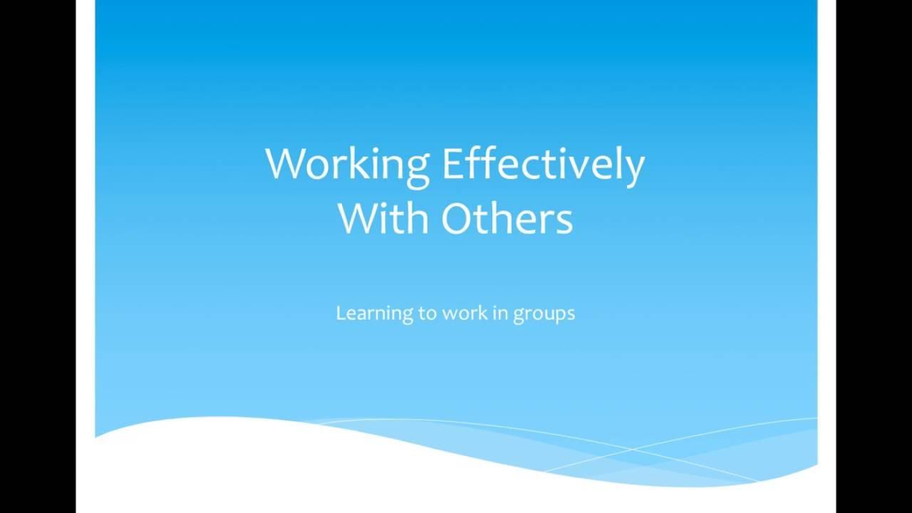 teamwork presentation youtube