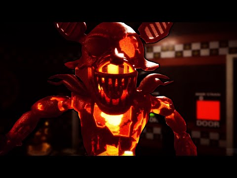 GRIM FOXY RIPPED ME APART WITH HIS FLAMING HOOK! FNAF: Those Halloween Nights