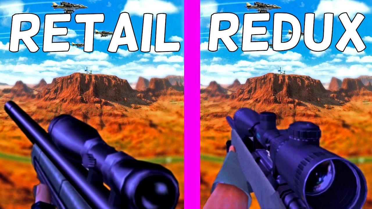 Download Half-Life: Opposing Force - Original vs. Redux – All Weapons Comparison