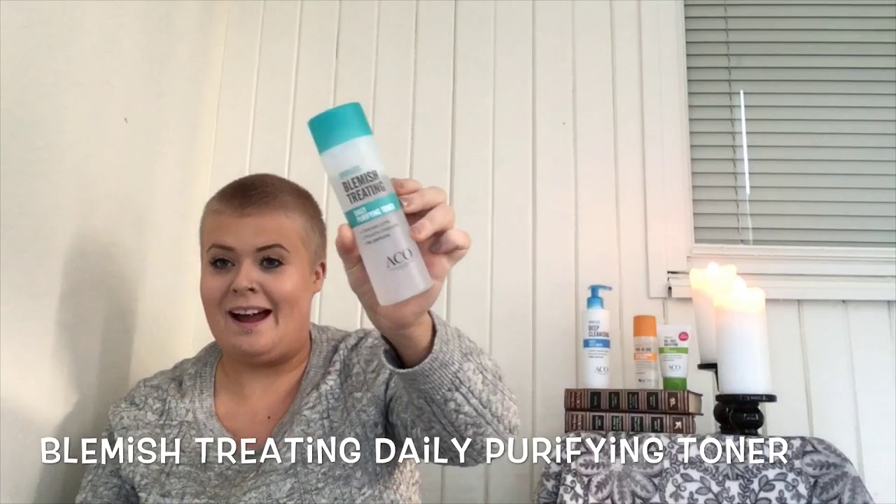 aco blemish treating moisturiser