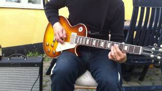 Gibson Les Paul Jimmy Page Number Two - humbucker vs. split