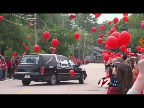 Red Balloons Fly in Honor of Teen Killed in Accident