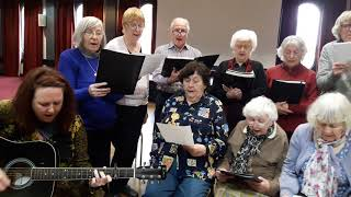 Irish Pensioners Choir sing Isle of Hope, Isle of Tears, for the Windrush Generation.