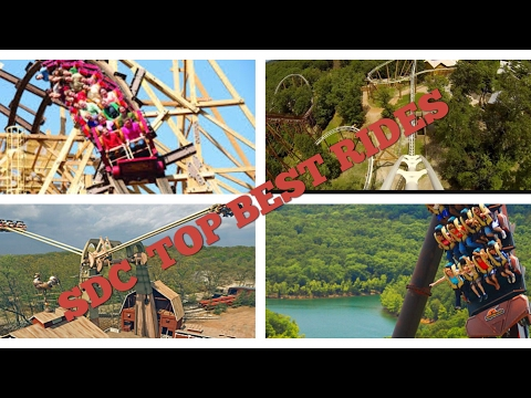SILVER DOLLAR CITY TOP 7 RIDES!!