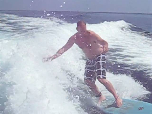 Mark Wakesurfing